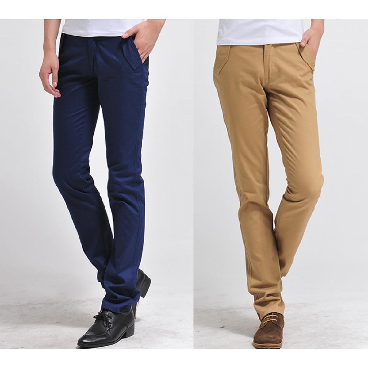 Erkek klasik dar paça pantolon çeşitleri