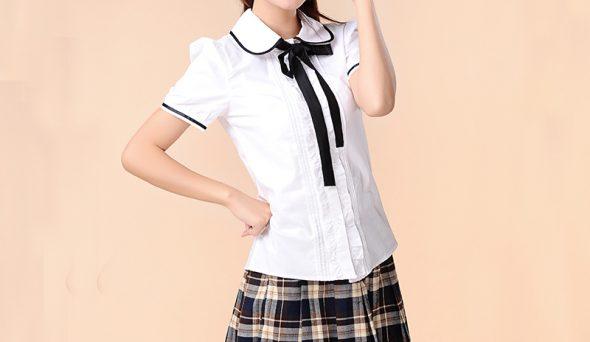 Kız Okul Gömleği